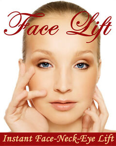 INSTANT FACE, NECK & EYE LIFT, Facelift tapes and bands! SHIPS TODAY!! (Fulford)