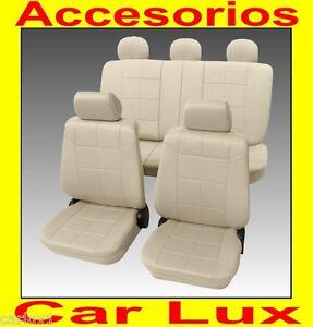 Fundas para asientos auto forros asiento para coche nissan en beige ebay - Fundas para auto ...