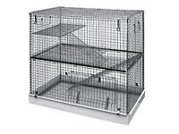 Two tier cage - chinchilla rat degu