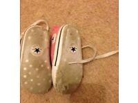 Converse pram shoes size 3