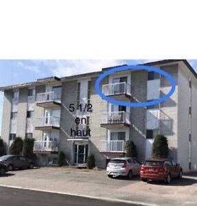 3 chambres 5 1/2 sur Chicoutimi (pres UQAC)