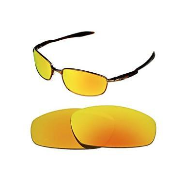NEW POLARIZED CUSTOM FIRE RED LENS FOR OAKLEY BLENDER SUNGLASSES for sale  Shipping to United States