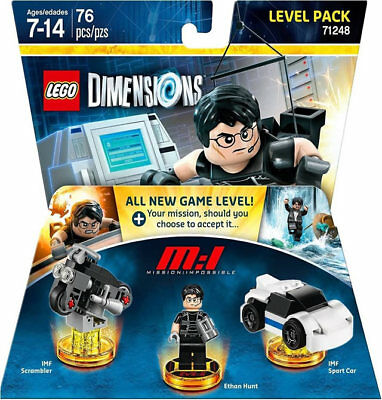 LEGO Dimensions Mission Impossible Level Pack, New