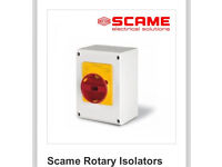 Scame rotary isolator new