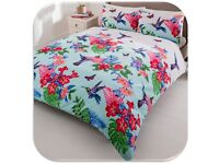Double Hummingbird Duvet Set