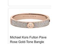 Michael Kors original Rose gold Bangle