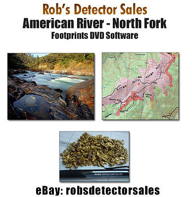 American River - North Fork - Footprints DVD - Gold Prospecting! Mining Claims