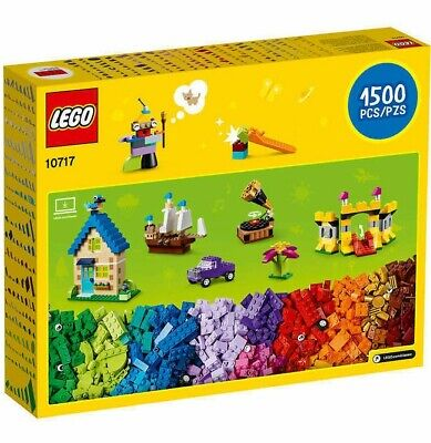 New 2019 🔥 LEGO Classic 10717 Bricks 1500 Pieces Building Blocks Sealed🔥