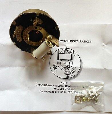 John Deere Ignitionlight Switch For 4032033042043044062070mmtmimc