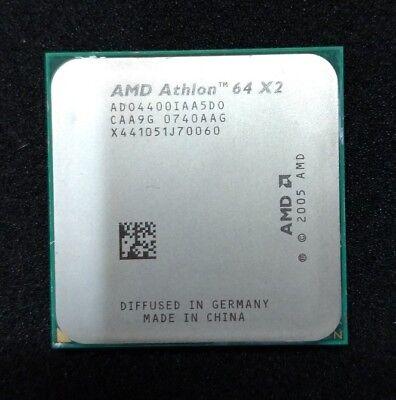 Processeur CPU AMD Athlon 64 X2 4400+ 2,3Ghz ADO4400IAA5DO Socket AM2 comprar usado  Enviando para Brazil