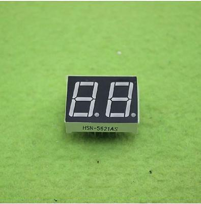 5pcs 0.56 Inch 2 Digit Red Led Display 7 Segment Common Cathode Good Quality