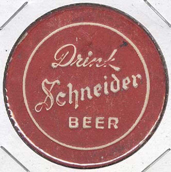 DRINK SCHNEIDER BEER * TRINIDAD, CO * OLD 1900