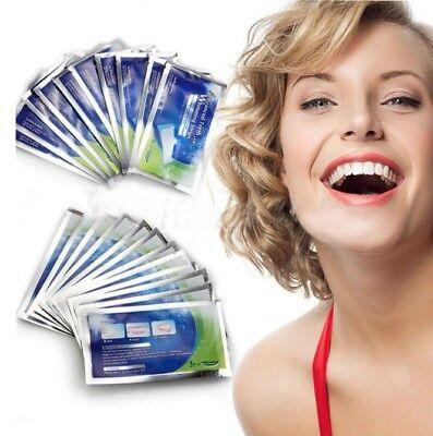 28 Bandelettes Strips pour Blanchiment Dentaire Dents Blanches Bande Goût Menthe