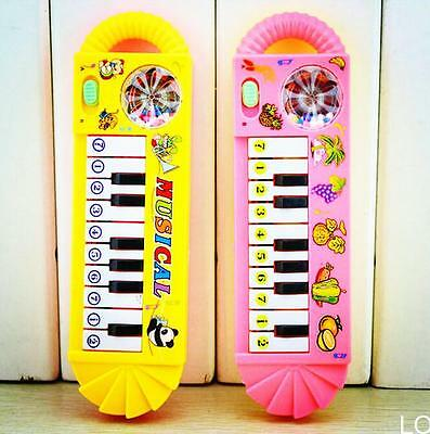 LO 1Pcs x New Useful Popular 0-7age Baby Kid Piano Music Developmental Cute Toy