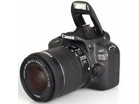 CANON EOS 100D CAMERA & ACCESSORIES