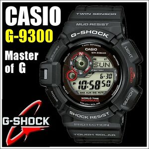 casio g 9300 1er g shock solaire montre master of g neuf neuf dans sa bo te. Black Bedroom Furniture Sets. Home Design Ideas