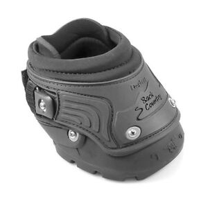 Bottes pour cheval easyboot back country avec crampons à glace