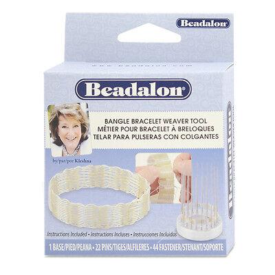 BEADALON Bangle Bracelet Jig Weaver Tool
