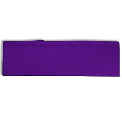 "Japanese Vintage Cotton OBI Sash Belt Kimono Yukata 4"" W x 110"" L/Purple"