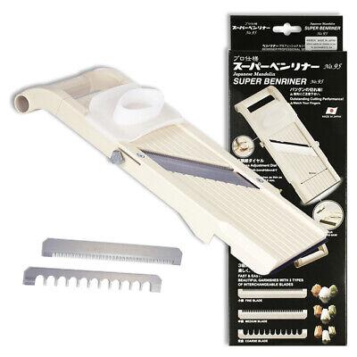 Japanese Super Benriner Mandoline Professional Vegetable Slicer, Made in Japan