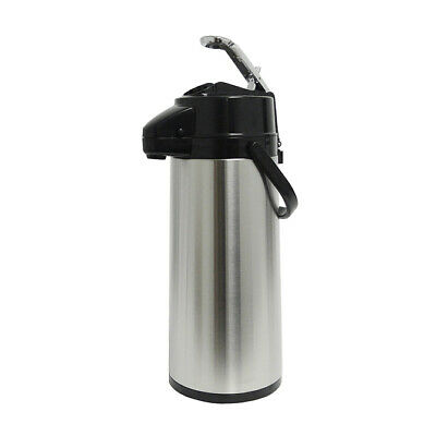 Holiday House Aps22s 2.2l Airpot Ss Finish Pump Lever Coffee Beverage Dispenser