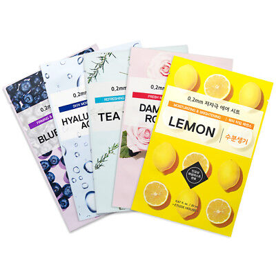 ETUDE HOUSE 0.2 Therapy Air Mask Sheet 20mL * 7 PCS - 23 Typ