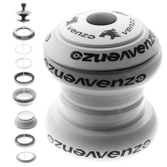1-1/8 Threadless Mountain Bike Headset Sealed White