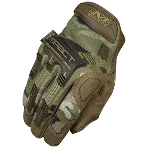 Mechanix Wear Mpact Gloves MPT Covert Black, Coyote, Multicam, Woodland Camo