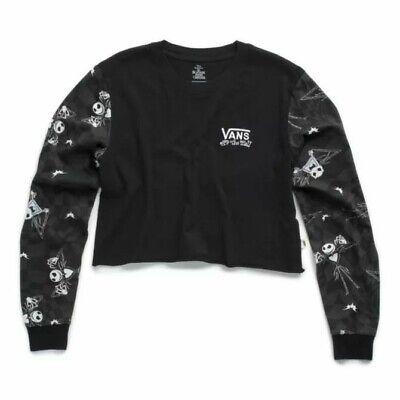 NWT Jacks Checks Vans x Nightmare Before Christmas Long Sleeve Womens XS ()