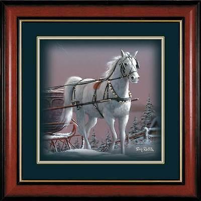 TERRY REDLIN Framed Winter Wonderland-Snow White ()