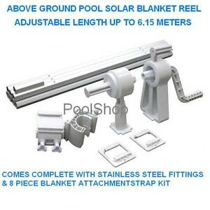 NEW ABOVE GROUND SWIMMING POOL SOLAR BLANKET ROLLER REEL HEATING Beldon Joondalup Area Preview