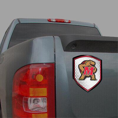 Maryland Terrapins NCAA Shield Reflector - Decal / Sticker *Free Shipping