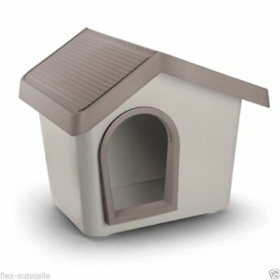 Kennel Stall Dog House Basket Bed Plastic Grey / Zeus Size 70
