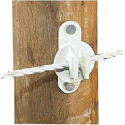 Wood Vinyl Post Insulator For Wire Pack Of 25