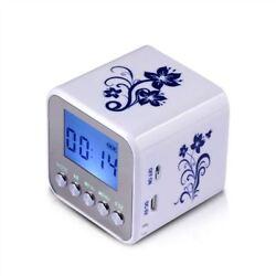 Mini NiZhi TT-032A LCD Display FM radio USB TF Card MP3 Player Digital Speakers