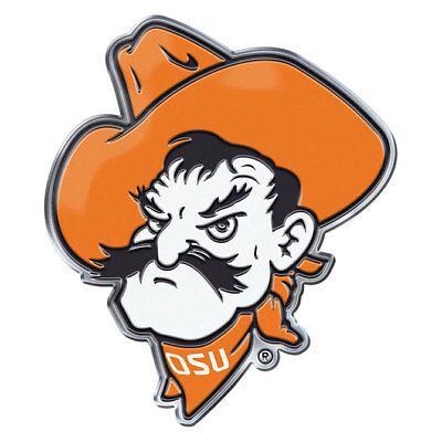 Oklahoma State Cowboys Pistol Pete Auto /Hard Surface Emblem Decal NCAA Licensed
