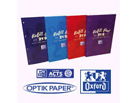 Oxford campus A4 300 PAGES REFILL 3 PACK rrp £17.50 only £4.99