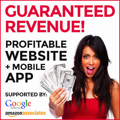 Profitable Website Mobile App - Make At Least 150month. Guaranteed Income
