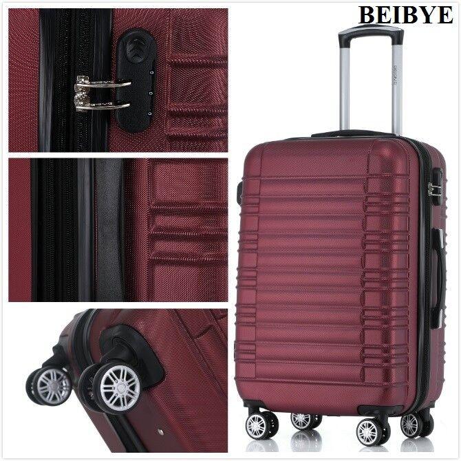 Koffer 2088 Hartschalenkoffer Trolley Kofferset Reisekoffer  M-L-XL-Set