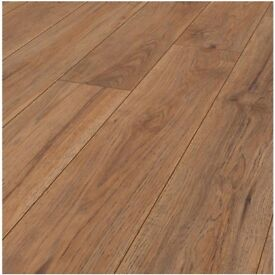 MARDY GRAS HICKORY 8MM V GROOVE LAMINATE FLOORING 2m2 COVERAGE