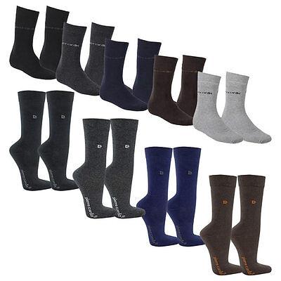 24 Paar Pierre Cardin Business Socken Herren versch. Farben Gr. 39-42 & 43-46