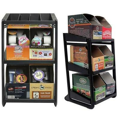 6 Section Coffee Pod Display Rack Organizer Caddy Box Kp6