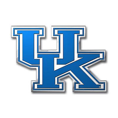 Kentucky Wildcats Logo Color Auto Emblem Free Shipping! NEW](Kentucky Wildcats Logo)