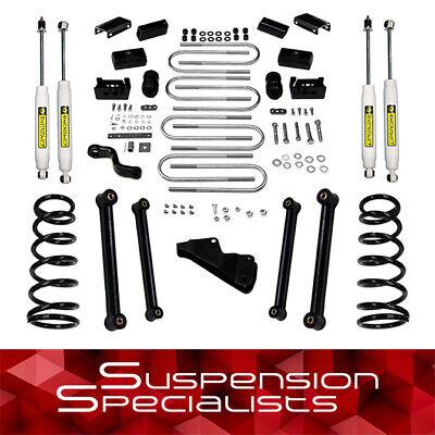 """Superlift 6"""" Lift Kit w/ Shocks 2006-2007 Ram 2500 3500 4WD 5.9L Cummins Diesel"""