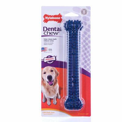 Nylabone Dental Chew Bone Giant for Dog Helps clean teeth plus control plaque