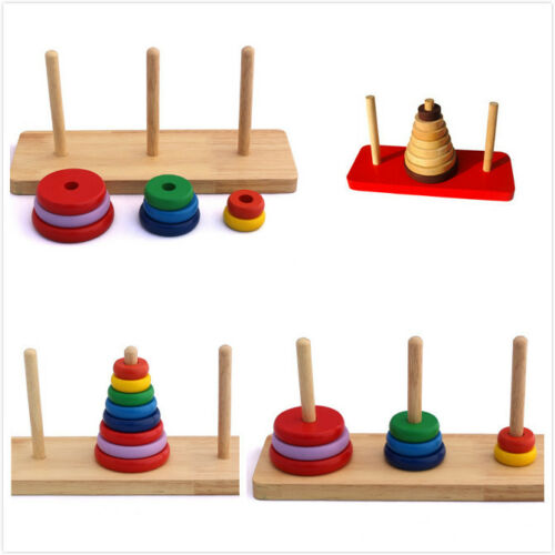 Wooden Toy Gift Baby Kid Intellectual Developmental Educational Early Learning~