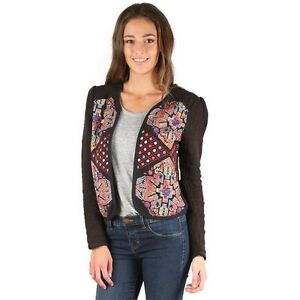 BNWT BILLABONG LADIES MOONLIGHT EMBROIDERED JACKET SIZE 12 RRP $99.99 LAST ONE