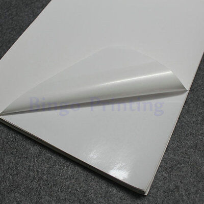 Polymer Papersynthetic Paper White A4 Sticker Only For Laser Printer 50pcs