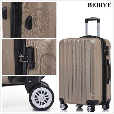 TSA-Schloß 2050 Hartschale kofferset Koffer Reisekoffer M-L-XL-Set in 10 Farben ()