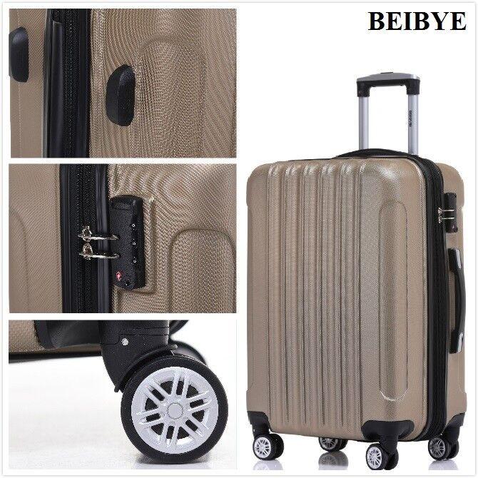 TSA-Schloß 2050 Hartschale kofferset Koffer Reisekoffer M-L-XL-Set in 10 Farben